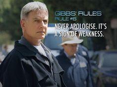 NCIS Season 7 Episode 12 ~ Gibbs' Rules #6 ~ Mark Harmon as Leroy Jethro Gibbs