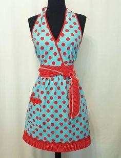 Halter apron