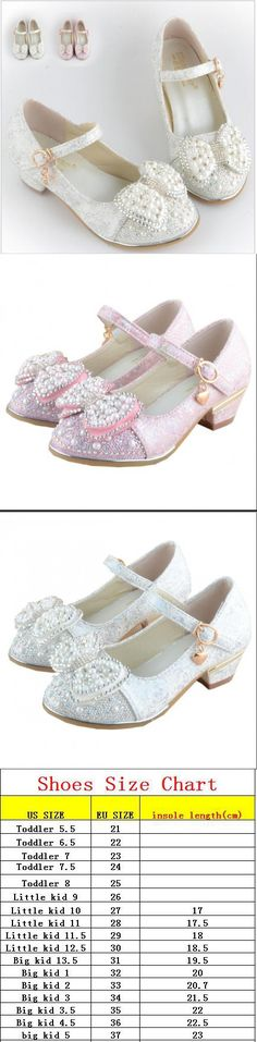 2016 Children Princess Sandals Kids Girls Wedding Shoes High Heels Dress Shoes Bowtie Party Shoes For Girls White Pink Dropship