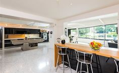 """A giant """"hob"""" is the altar in this Irish SieMatic kitchen 