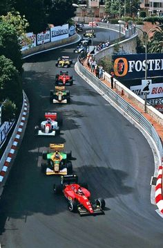 A Beautiful shot of the monaco gp, that also highlights its major flaw — no room to pass.