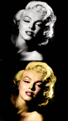 Oriol Bargalló: Fotomontaje - Colour Marilyn