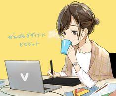 Me Anime, Fanarts Anime, Anime Couples Manga, Cute Anime Couples, Kawaii Anime, Manga Anime, Pretty Anime Girl, Beautiful Anime Girl, Anime Art Girl