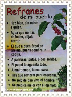 ☀Puerto Rico☀ Puerto Rican Sayings Puerto Rico Food, Puerto Rico History, Ap Spanish, Spanish Idioms, Spanish Lessons, Material Didático, Puerto Rican Culture, Puerto Rican Recipes, Spanish Classroom