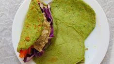 crepes de espinacas rellenos hummus y crudités Hummus, Crudite, Paleo, Keto, Avocado Toast, Guacamole, Quinoa, Tacos, Healthy Recipes