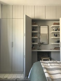 """Master Suite Bedroom Ideas With Wardrobes Bedroom Design When searching for master suite ideas, what really excites you? Will a """"done deal"""" be what you are after? Alcove Wardrobe, Bedroom Alcove, Bedroom Built In Wardrobe, Master Suite Bedroom, Bedroom Closet Design, Home Bedroom, Wardrobe Storage, Modern Wardrobe, Wardrobe Closet"""