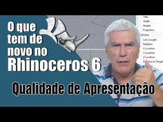 Modelando com Rhinoceros versão 6 - Qualidade e Apresentação - YouTube