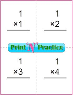 Kindergarten subtraction worksheets offer kids space to copy the equation three times. Practice the right answer first and every time. Interactive worksheets and printable flip charts. Addition Flashcards, Kindergarten Addition Worksheets, Subtraction Kindergarten, Homeschool Worksheets, Multiplication Worksheets, Multiplication Strategies, Math Math, Math Fractions, Math Games
