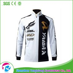 2017 Professional Custom Tournament Fishing Jerseys with Sublimation Printing