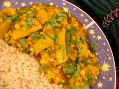 Chana Dal With Bell Pepper