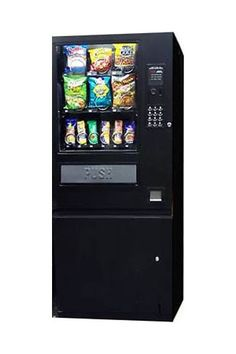 Ultra Black Accepts Coins Only 3 Wide Multi Price 6 Snack Selections 6 Candy Selections Refurbished Item