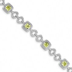 18-Inch Rhodium Plated Necklace with 4mm Emerald Birthstone Beads and Sterling Silver Saint Fiacre Charm.