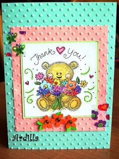Ardilla's Papers: Thank you card (01)