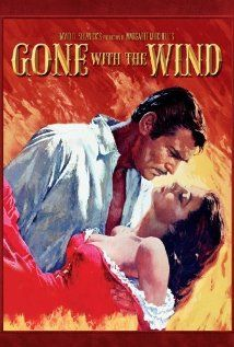 """""""Gone with the Wind"""".  I am currently in a period of working my way through some of the goldies, the classics, the all-time-favourites in the movie history, and I thought """"Gone with the Wind"""" was a great place to start. This movie felt a little too long, but it was so strong, so vibrant, so filled with love, destiny, life and death, that I still have to give it four hearts. <3 <3 <3 <3"""