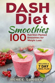 DASH Diet Smoothies for Weight Loss | Vegan Push