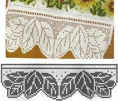 Hobby lavori femminili - ricamo - uncinetto - maglia: bordure