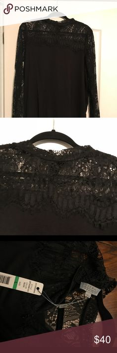 Shop Women's Joseph Allen Black size M Blouses at a discounted price at Poshmark. Description: Black lace sleeves and shoulders. Lace Sleeves, Black Blouse, Joseph, Blouses, Womens Fashion, Cotton, Things To Sell, Tops, Style