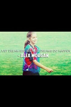 Alex Morgan I love her! Soccer Player Quotes, Female Soccer Players, Usa Soccer Team, Soccer Pro, Soccer Memes, Soccer Stuff, Soccer Tips, Nike Soccer, Soccer Cleats