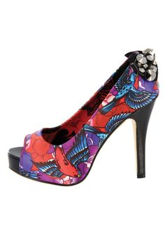 Perth's one-stop alternative shop since At Red Stripe Clothing we stock a wide range of interesting, alternative local and imported clothing, accessories and footwear. Peep Toe Platform, Iron Fist, Alternative Fashion, Shoe Game, Punk Rock, Kinky, Fashion Shoes, Kitten Heels, Footwear