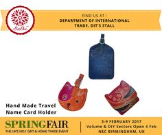 All arrangements ready for SpringFair 2017 at NEC, Birmingham, UK. Excited to be a part of this. Find us at the Department of International Trade, DIT's Stall. Do visit us for beautiful Indian handmade craft. For more information visit our website: export.silkoakgroup.com or call us at (India): 033 4061 1166 , UK Office : +44 7904555600. #SpringFair2017 #gift #HomeTrade #B2B #ceramic #homedecor #handicraft #UK #lifestyle
