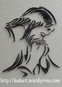 string art gethsemane