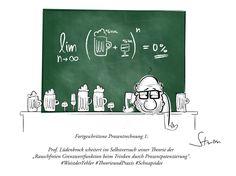 #mathematik #mathematiker #humor #cartoon #prozent #alkohol #bier