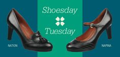 """Shoesday Tuesday: Comment """"Nation"""" or """"Napina"""" at Facebook.com/Naturalizer to vote on which shoe you'd like a 25% discount!"""