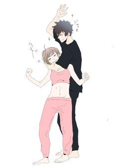 Akane and Shinya // Psycho Pass