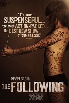 Poster and Trailers for Kevin Bacon's Psychological Thriller THE FOLLOWING