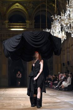 On-the-ground, around-the-clock dispatches from the spring 2016 shows, brought to you by the editors of Styles and T. Queer Fashion, Dark Fashion, Gothic Fashion, Dark Mori, Thrift Fashion, Spring 2016, Alternative Fashion, Sustainable Fashion, Ball Gowns