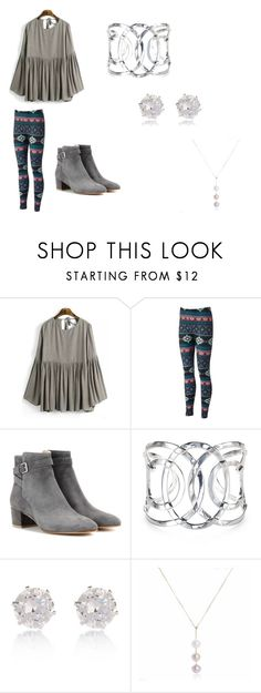 """""""rainy day"""" by katiemcgee1972 on Polyvore featuring Gianvito Rossi, River Island, women's clothing, women, female, woman, misses and juniors"""