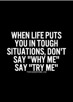 Try me...