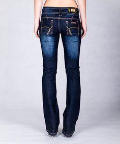 Look at this #zulilyfind! V.O. Jeans Dark Indigo Bootcut Jeans by V.O. Jeans #zulilyfinds