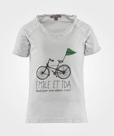 Vélo t-shirt  Emile et Ida