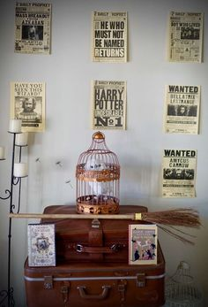 Harry Potter 18th Birthday Party | CatchMyParty.com