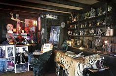 Occult museum in Connecticut of Mr.and Mrs.Ed and Lorraine Warren's