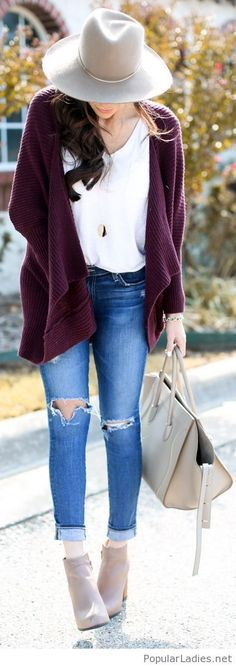Must Have: Slouchy Cardy #ankleboots