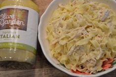 Chicken Pasta Crockpot, Creamy Italian Chicken, Chicken Pasta Recipes, Pasta With Olives, Chicken With Olives, Olive Garden Chicken Gnocchi, Chicken Garden, Olive Recipes, Instant Pot Dinner Recipes