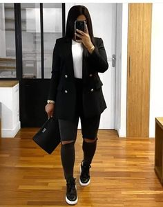 Cute Fall Outfits, Fall Winter Outfits, Classy Outfits, Stylish Outfits, Look Fashion, Daily Fashion, Autumn Fashion, Fashion Hub, Fashion Details