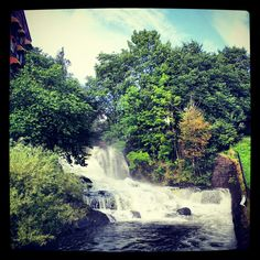 Waterfall at Molla, Oslo, Norway Photo: Sarah Priest