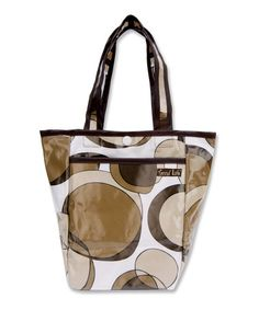 Take a look at this Brown Bubbles Mini Diaper Bag by Trend Lab on #zulily today!$9.99, regular 18.00.  Sale ends in 2 days, 17 hours; or, in other words on Monday, June  9th in the afternoon. So if you're interested, get on it! :)
