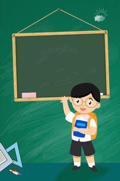 Student Cartoon, Teacher Cartoon, School Cartoon, Powerpoint Background Design, Poster Background Design, Vector Background, Background Images, Classroom Background, Kids Background