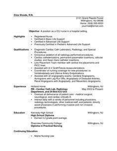 NEW GRAD NURSE RESUME   New Grad Registered Nurse Cover Letter Sample