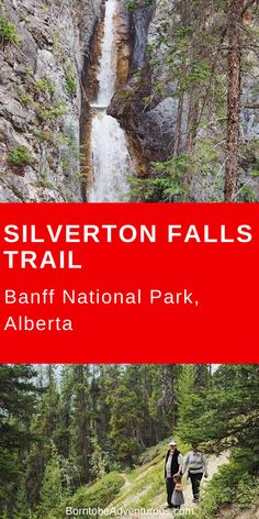 Check out this beautiful waterfall near Banff, Alberta! Family Adventure, Adventure Travel, Adventure Awaits, Banff National Park, National Parks, Canadian Travel, Canadian Rockies, Oh The Places You'll Go, Places To Visit