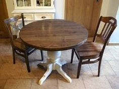 Stół okrągły biały drewniany dąb kolory dowolne postarzane olejowane...