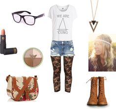 """""""We Are Young"""" by sydnykenny on Polyvore"""