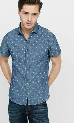 Como Usar Camisa de Chambrê Masculina - Canal Masculino