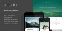 Nibiru - Multi-Purpose Responsive WordPress Theme (Corporate)