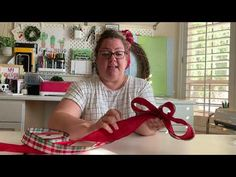 (95) Double Ribbon Bow for a Wreath - YouTube Diy Wreath, Wreaths, Living Dining Combo, Big Bows, Ribbon Bows, Craft Videos, Flower Arrangements, Creative, Youtube