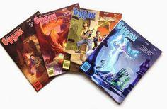 El Descanso del Escriba: Votando la mejor portada de la Gygax Magazine